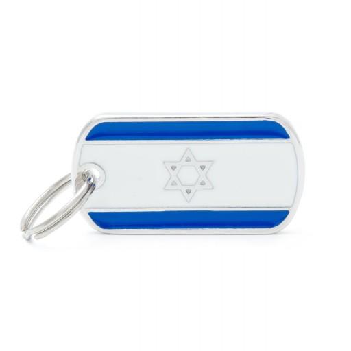 Placa Bandera de Israel