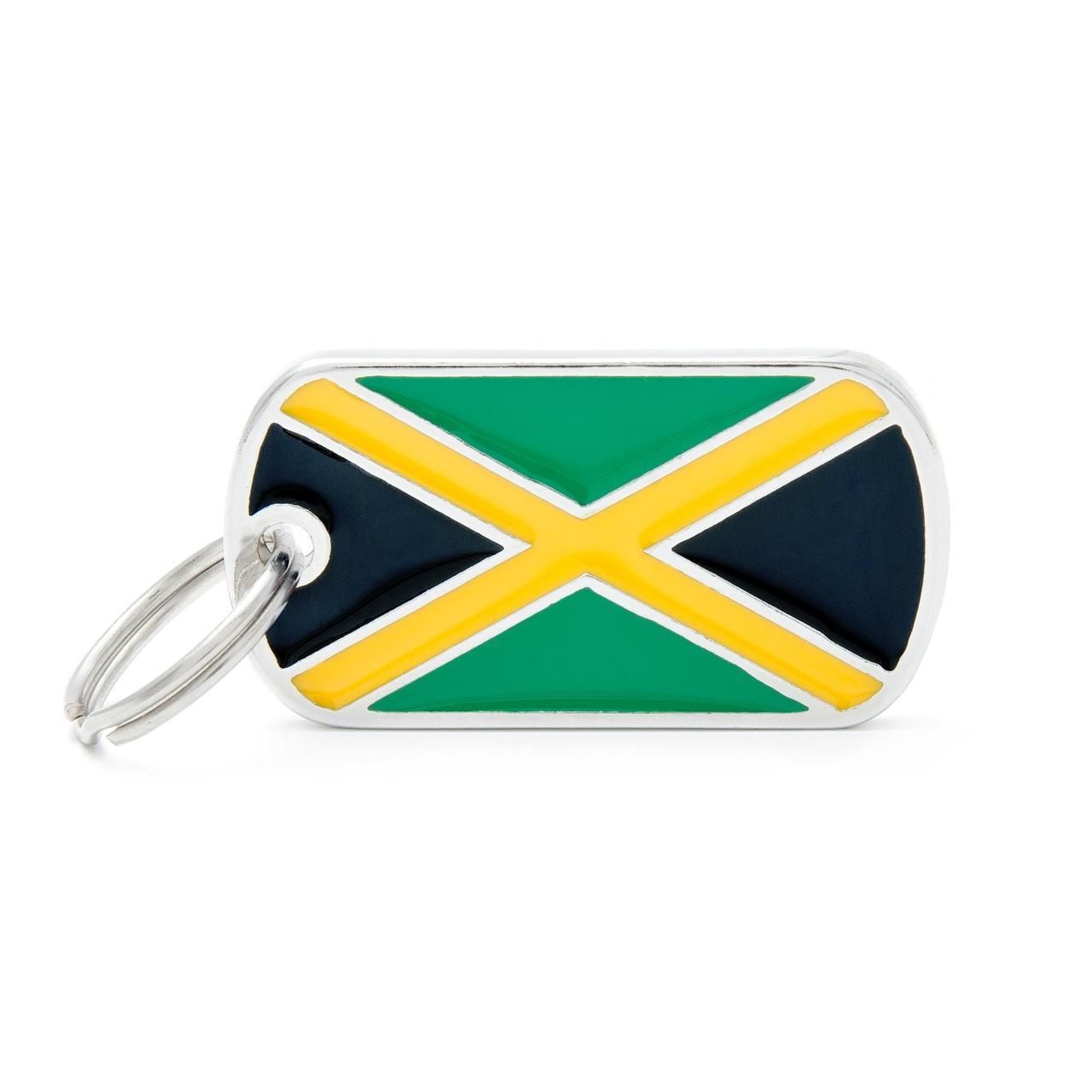 Placa Bandera de Jamaica