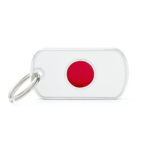 Placa Bandera de Japón