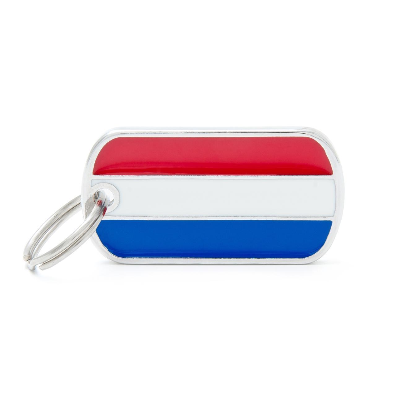 Placa Bandera de Holanda