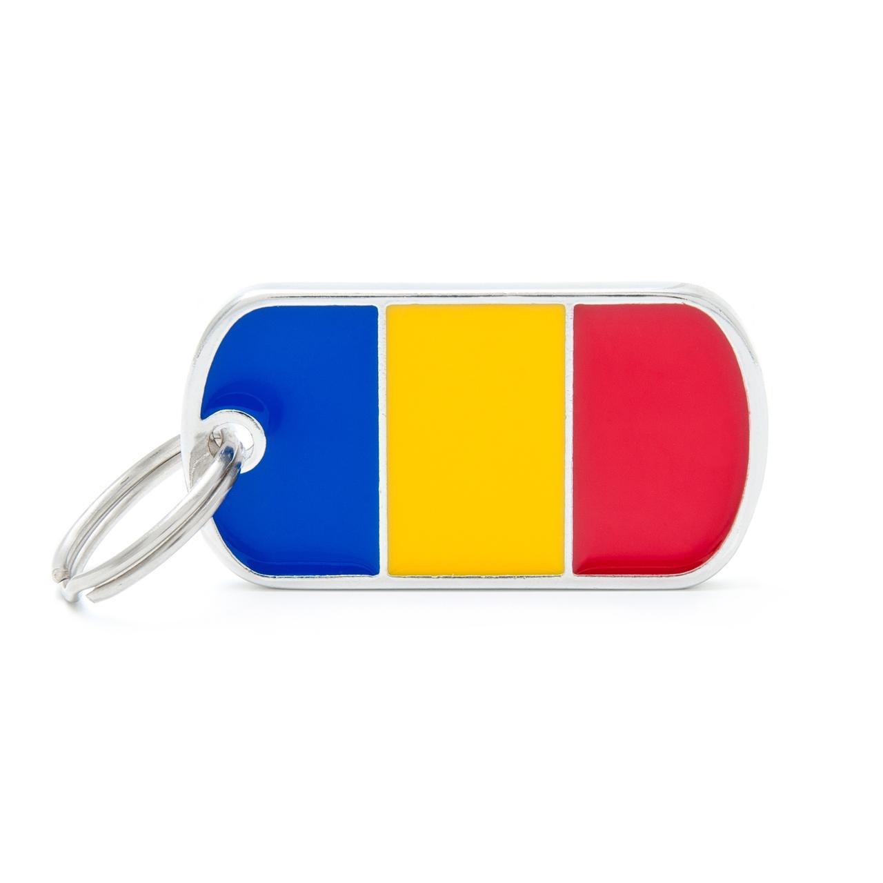 Placa Bandera de Rumanía