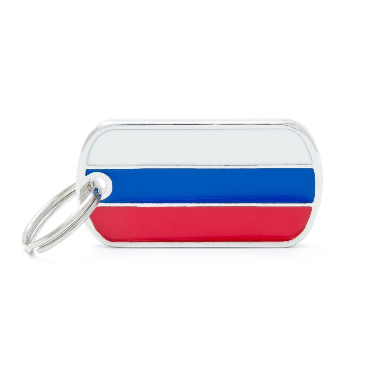 Placa Bandera de Rusia