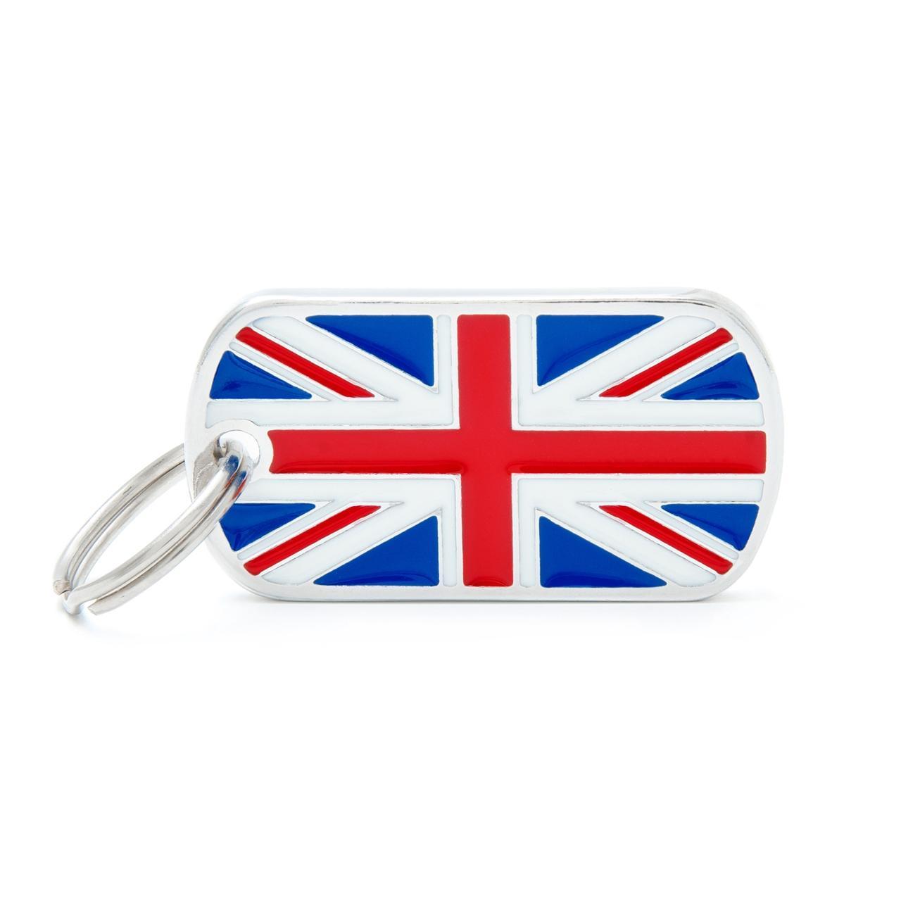Placa Bandera de U.K.
