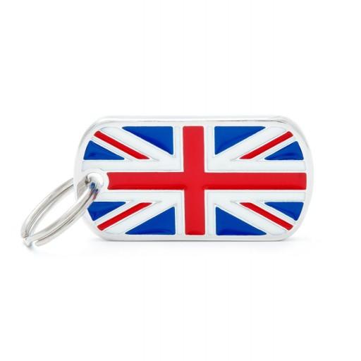 Placa Bandera de U.K. [0]