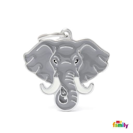Placa Wild Elefante