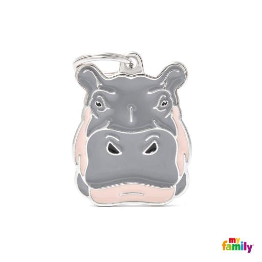Placa Wild Hipopótamo
