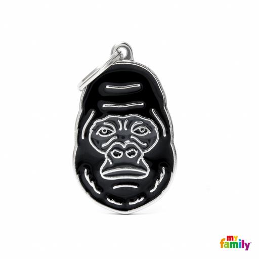 Placa Wild Gorila