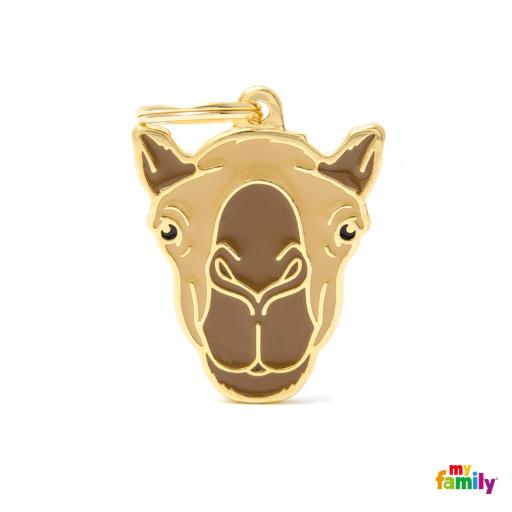 Placa Wild Camello