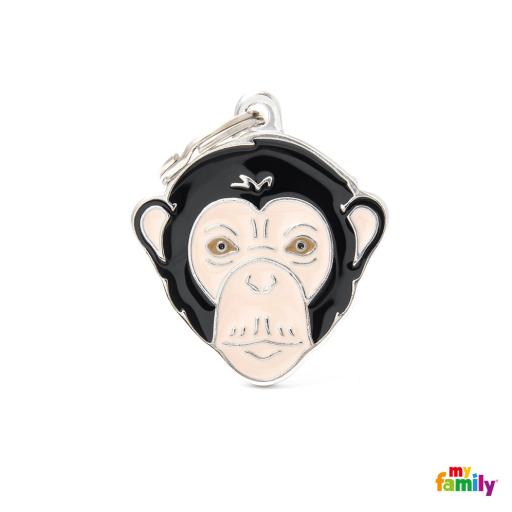 Placa Wild Chimpancé