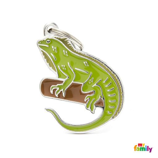 Placa Wild Iguana