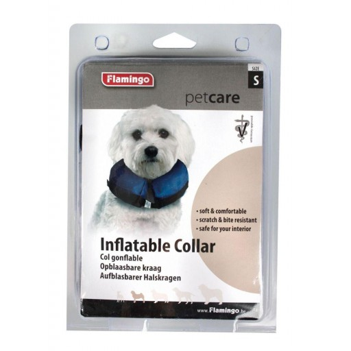 Collar Protector Inflable de Flamingo [1]