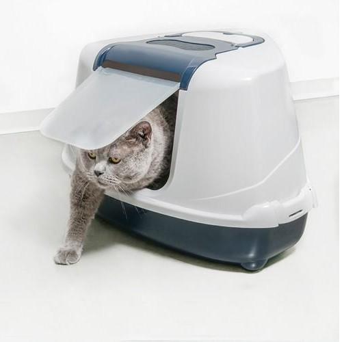 Arenero Cubierto Flip Cat Marino Large/Jumbo/Corner [2]