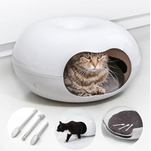 Casa Gato Donnut con Cojín [0]