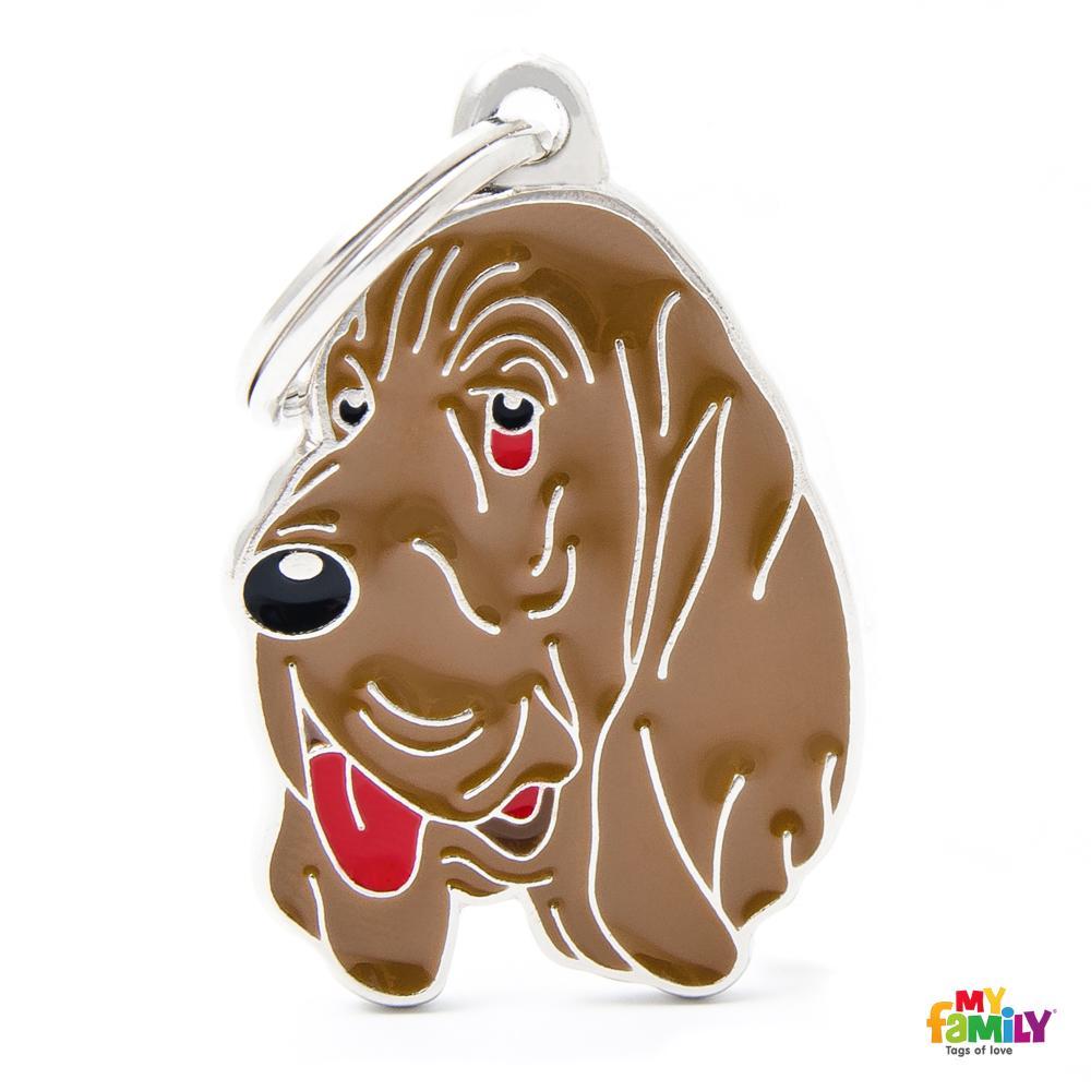 Placa Bloodhound