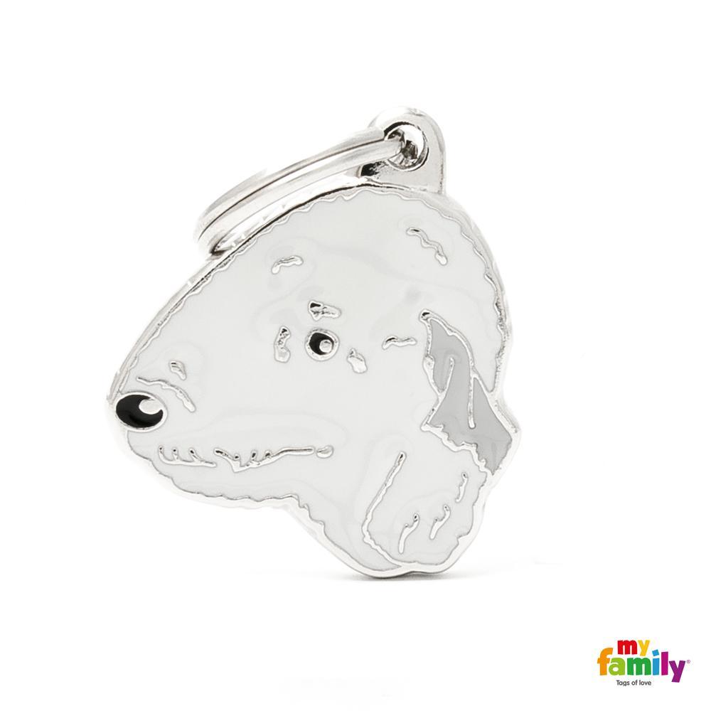 Placa Bedlington Terrier