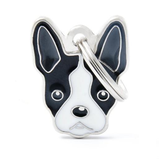 Placa Boston Terrier