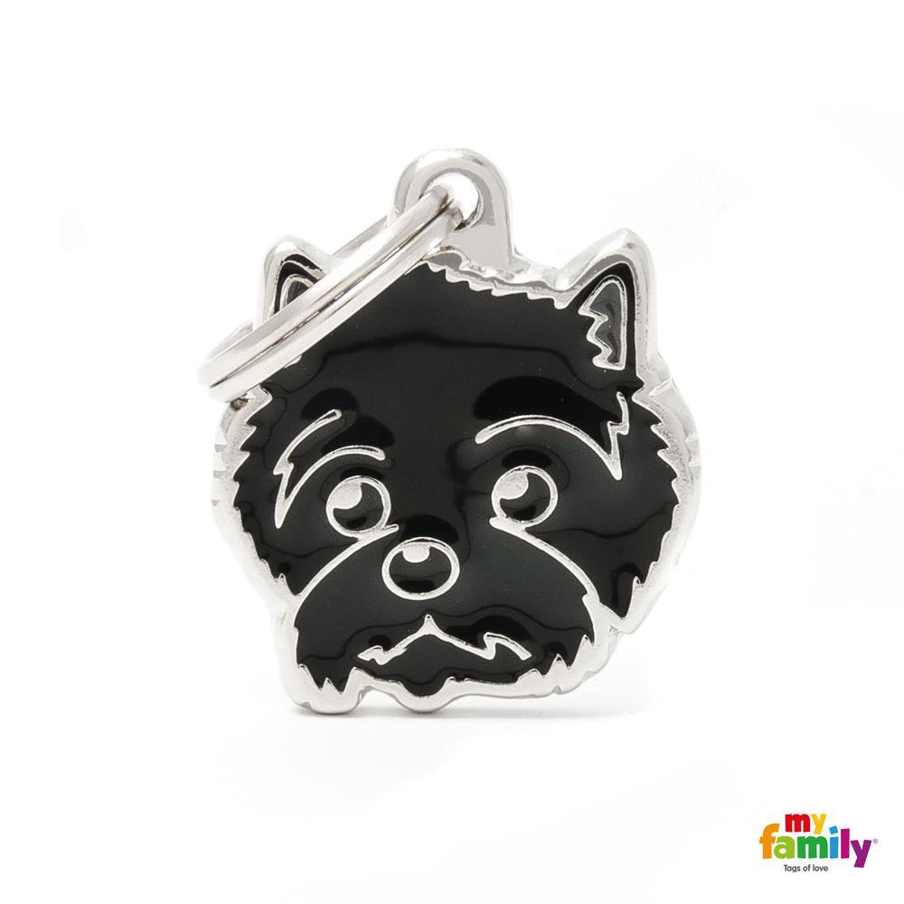 Placa Cairn Terrier