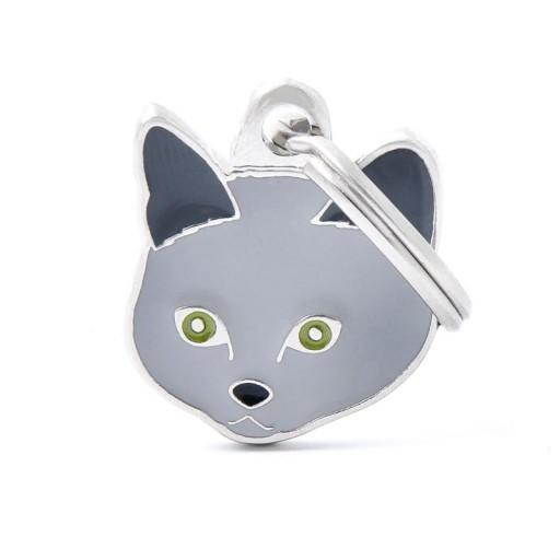 Placa Gato Chartreux [0]