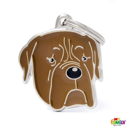 Placa Dogue de Bordeaux
