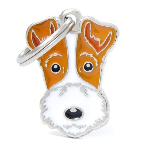 Placa Fox Terrier