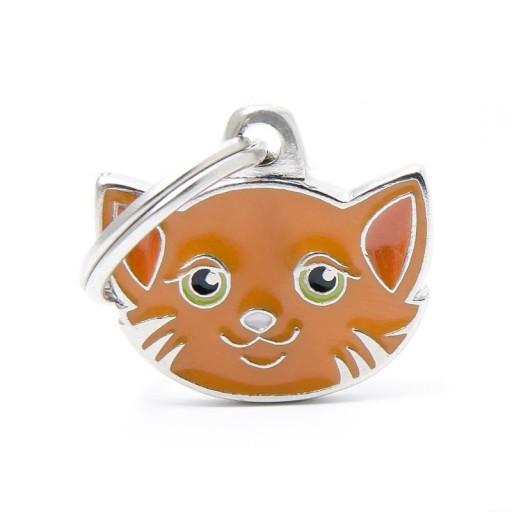 Placa Gato Europeo Rojo (Bob)