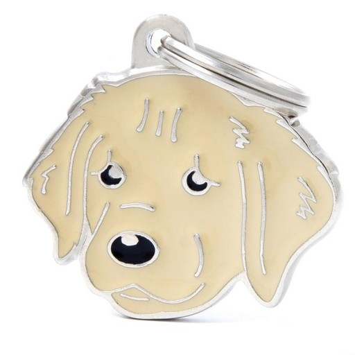 Placa Golden Retriever [0]