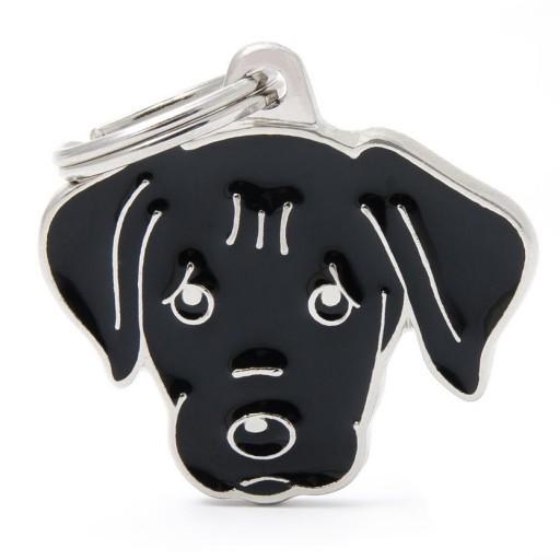 Placa Labrador Negro [0]