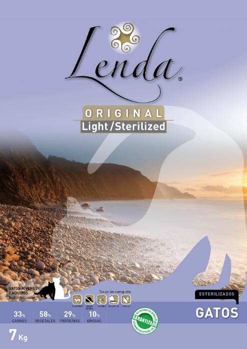 Lenda Light/Esterilizado para Gatos (Original)