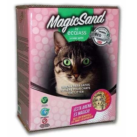 Arena para Gato MagicSand de Ecojass