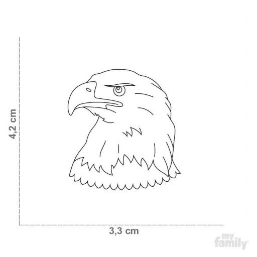 Placa Wild Águila [1]