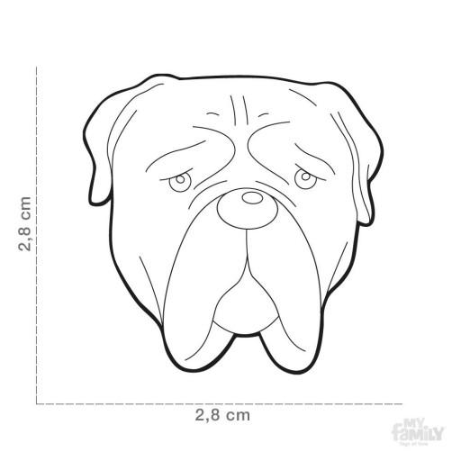 Placa Bullmastiff [1]