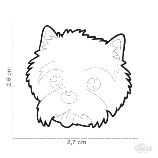 Placa Cairn Terrier [1]