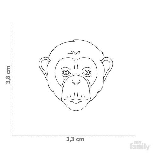 Placa Wild Chimpancé [1]