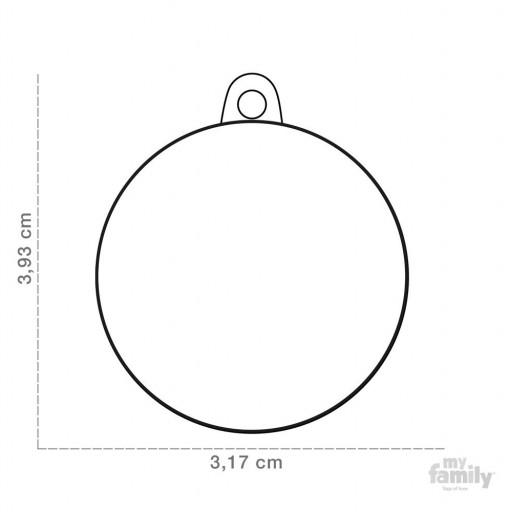 Placa Círculo Grande Ancla [1]