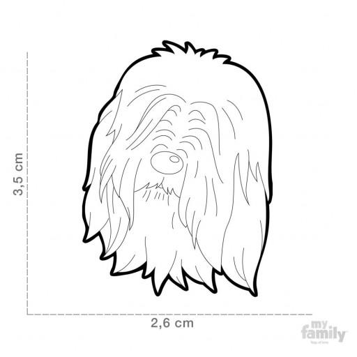 Placa Collie Barbudo [1]