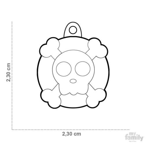 Placa Calavera [1]