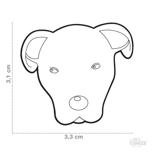 Placa Dogo Argentino [1]