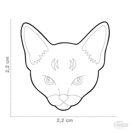 Placa Gato Abisinio [1]