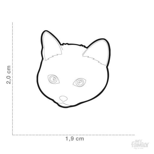 Placa Gato Chartreux [1]