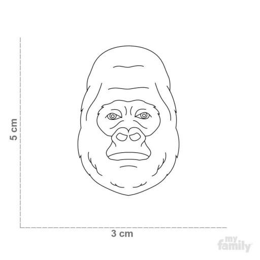 Placa Wild Gorila [1]