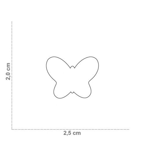 Placa Mariposa Verde [1]
