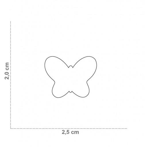 Placa Mariposa Rosa [1]