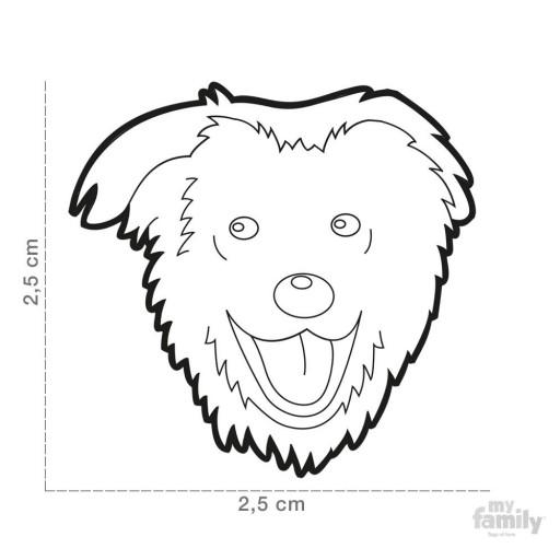 Placa Perro Mestizo [1]