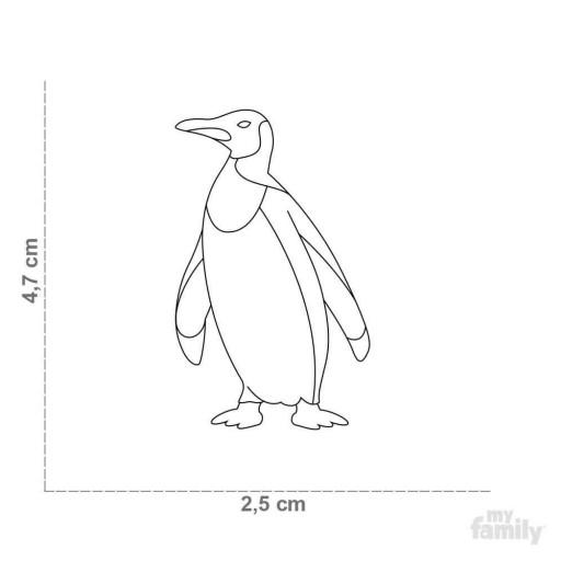 Placa Wild Pingüino [1]