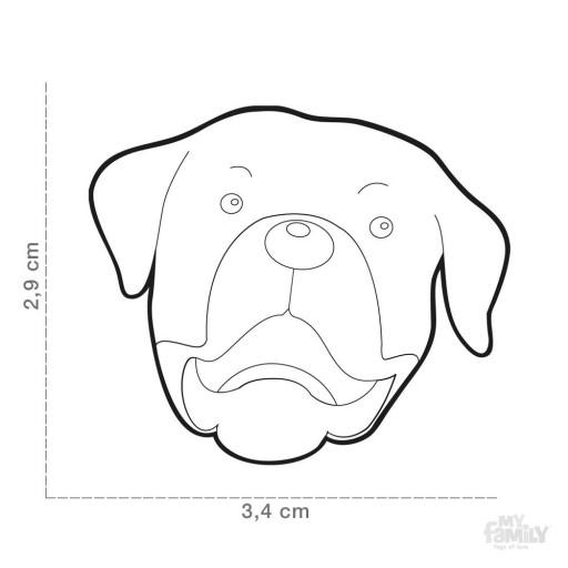 Placa Rottweiler [1]