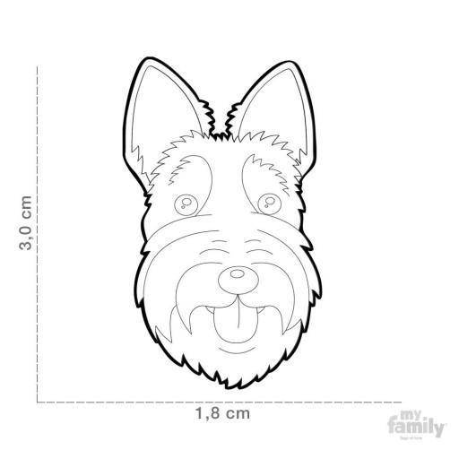 Placa Terrier Escocés [1]