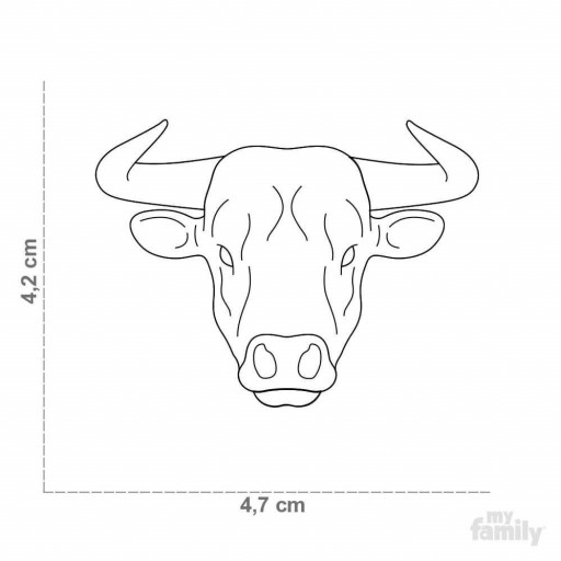 Placa Wild Toro [1]