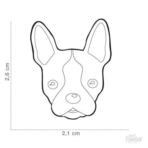 Placa Boston Terrier [1]