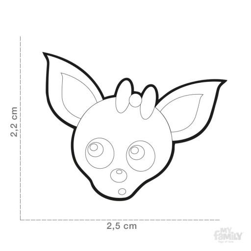 Placa Chihuahua Chocolate [1]