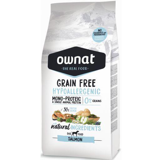Ownat Just Grain Free Hypoallergenic Salmón para Perro